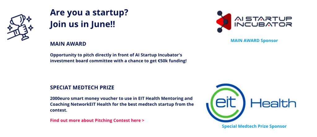 €50k funding by AI Startup incubator is main award of 100 Wolves Pitching Contest